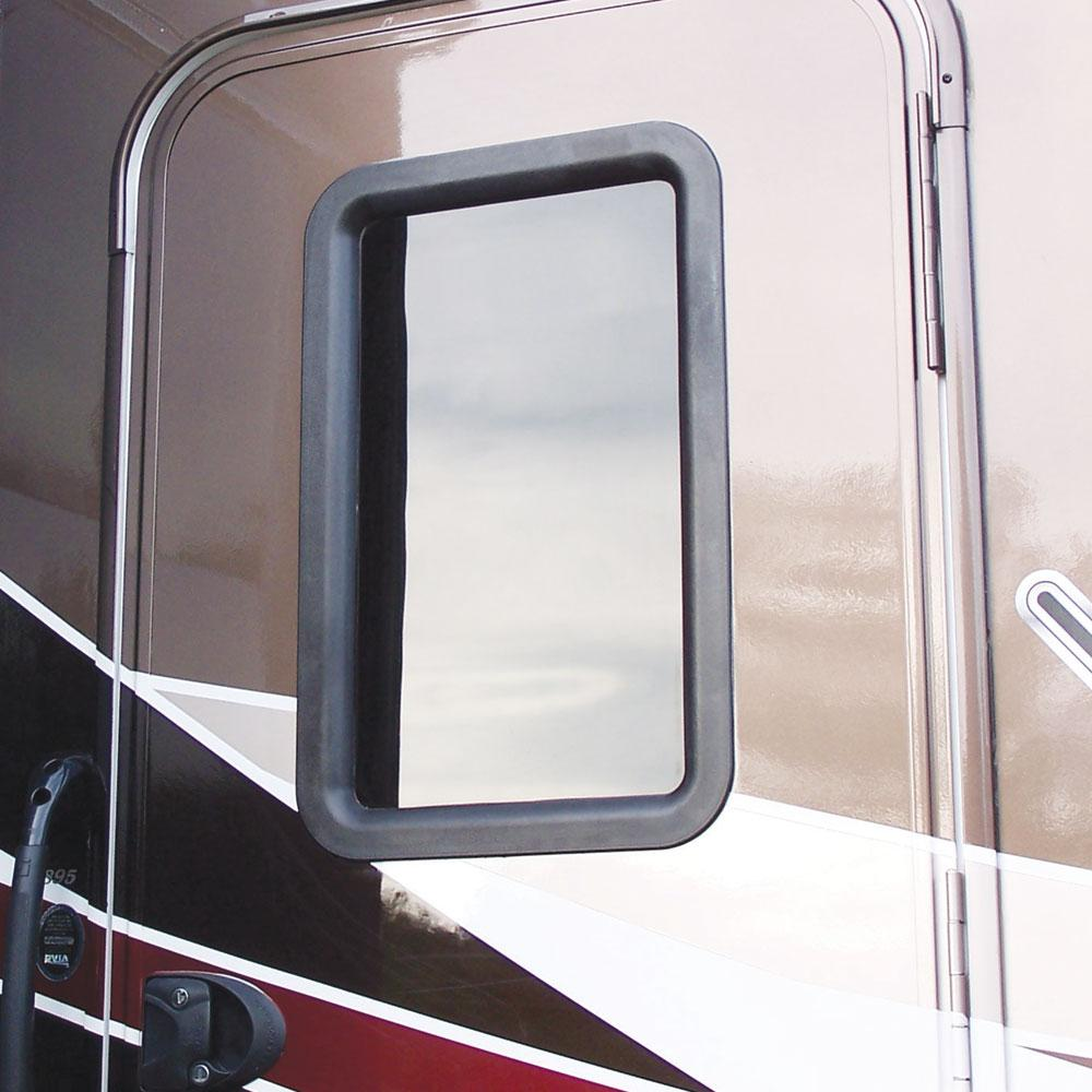 Clear view entry door window kit ross rv innovations view from outside after installation planetlyrics Images