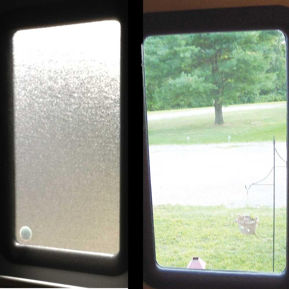 Clear View Entry Door Window Kit Ross Rv Innovations