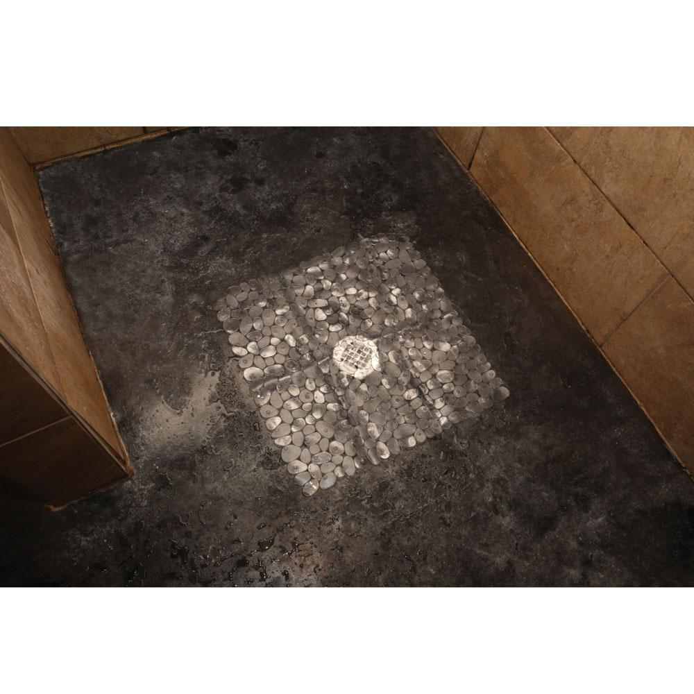 Clear Pebble Shower Mat - Kittrich SMAT-C3E22-04 - Other Accessories ...