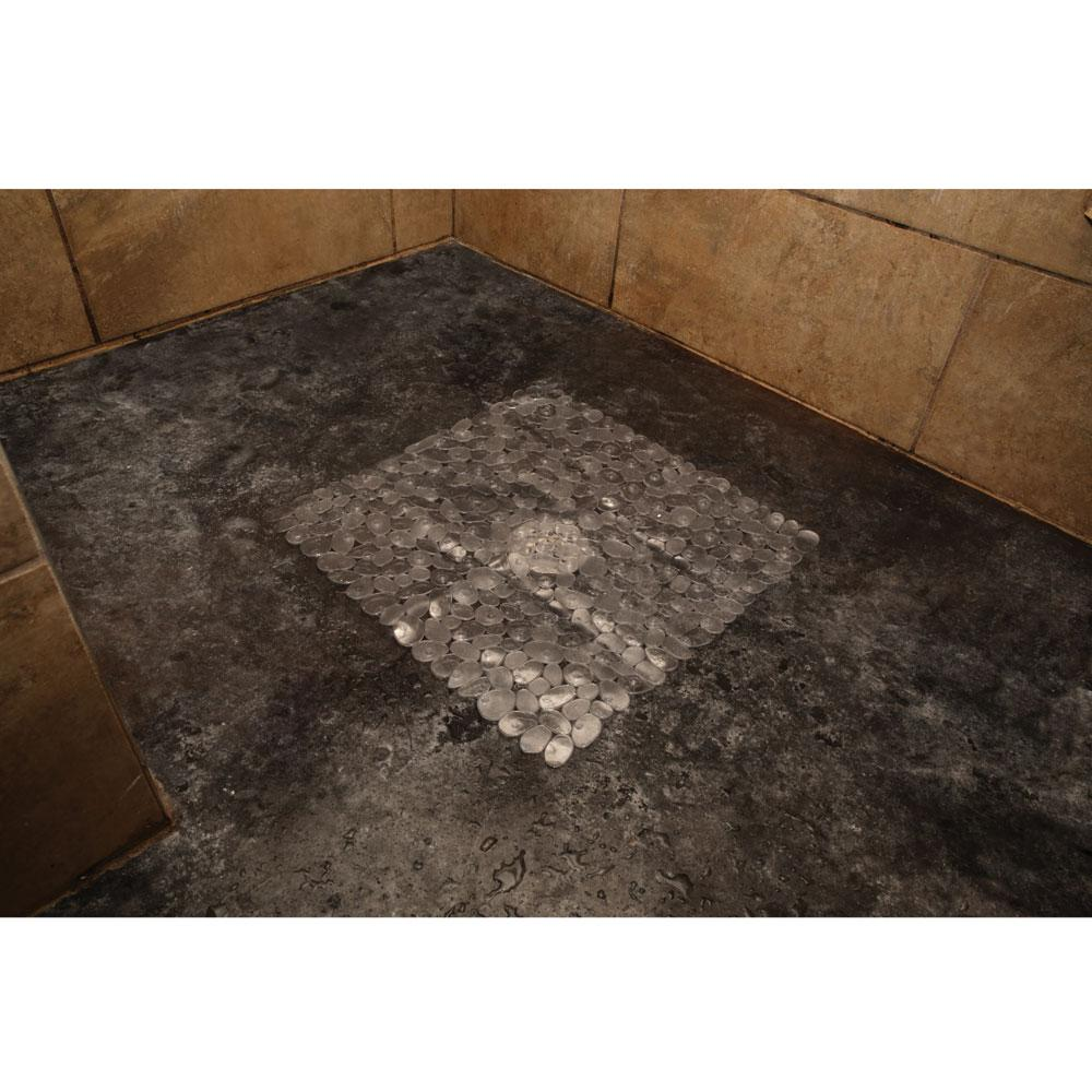 Charmant ... Clear Pebble Shower Mat