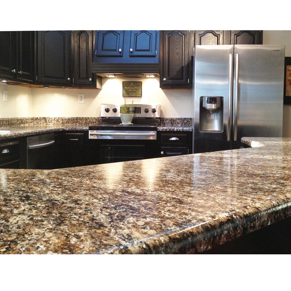 Giani Countertop Paint Home Depot : Granite Countertop Paint Kit, White Diamond - Giani Inc FG-GI WHT DI ...