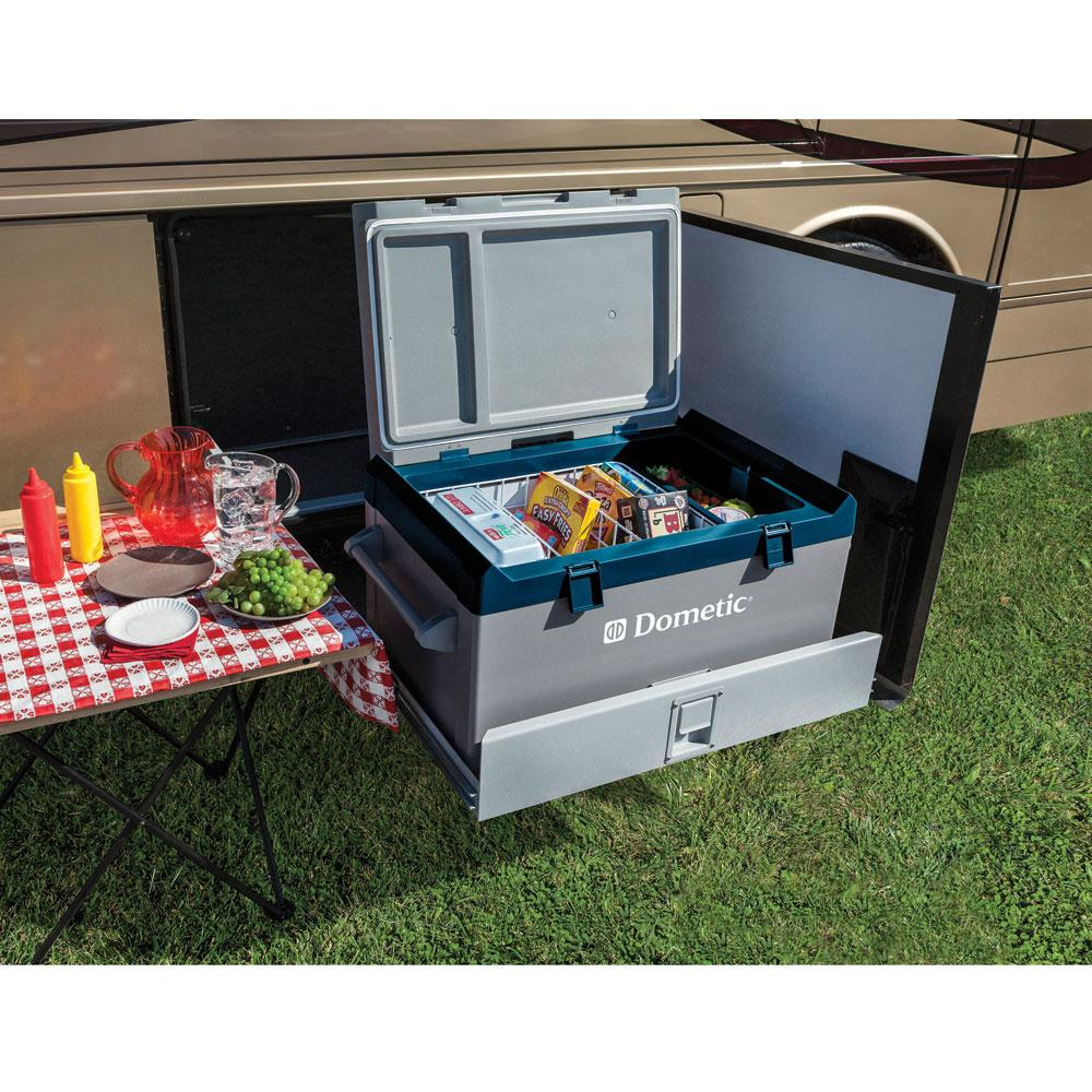 Dometic 2 2cf Dual Zone Portable Electric Cooler