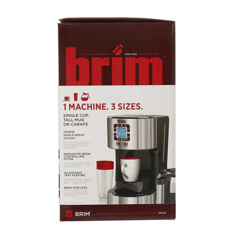 Coffee Maker Carafe And Single Cup Brim Size Wise Programmable Coffeemaker D H Distributing Co