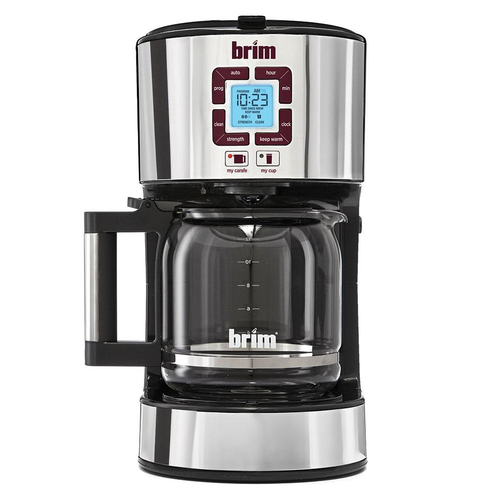 BRIM Size-Wise Programmable Coffeemaker - D & H Distributing Co BRM50002 - Coffee Makers ...