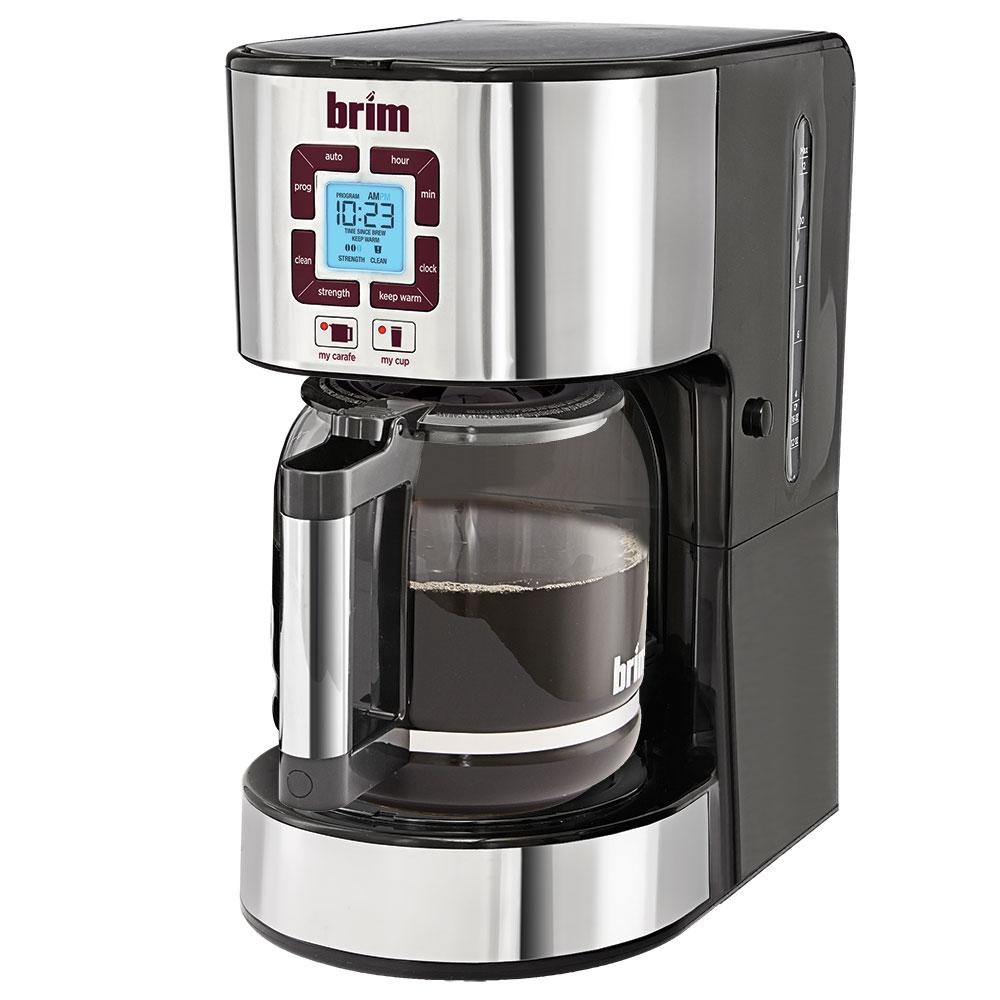 Coffee Maker Without Pot : BRIM Size-Wise Programmable Coffeemaker - D & H Distributing Co BRM50002 - Coffee Makers ...