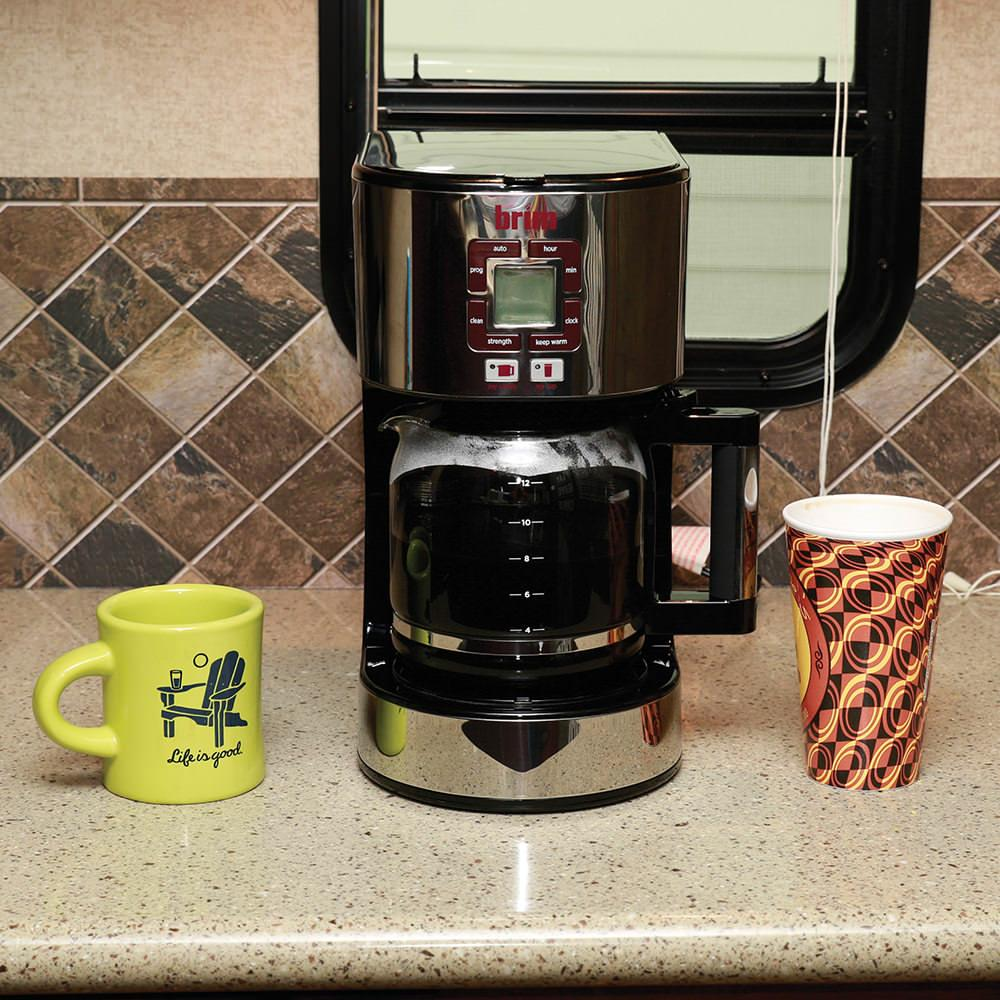 Camping World Coffee Maker : BRIM Size-Wise Programmable Coffeemaker - D & H Distributing Co BRM50002 - Coffee Makers ...