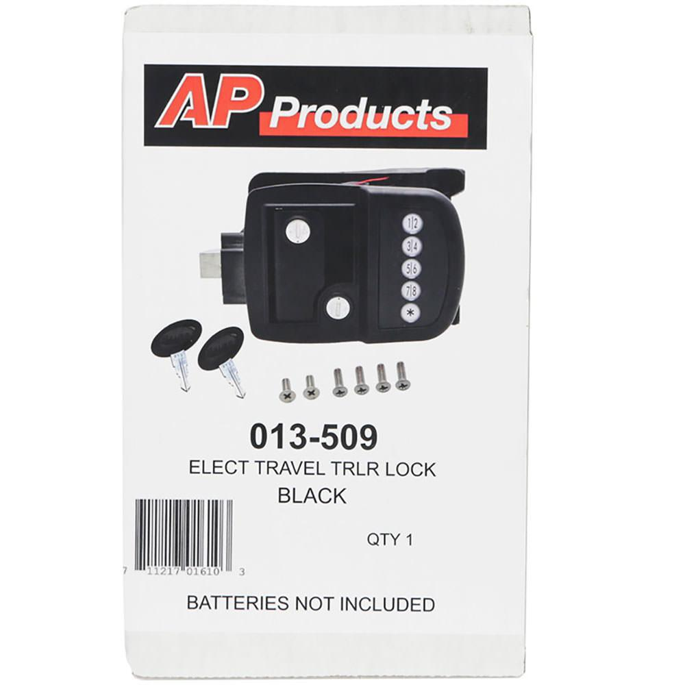 How To Install Ap Products   Electric Travel Trailer Lock