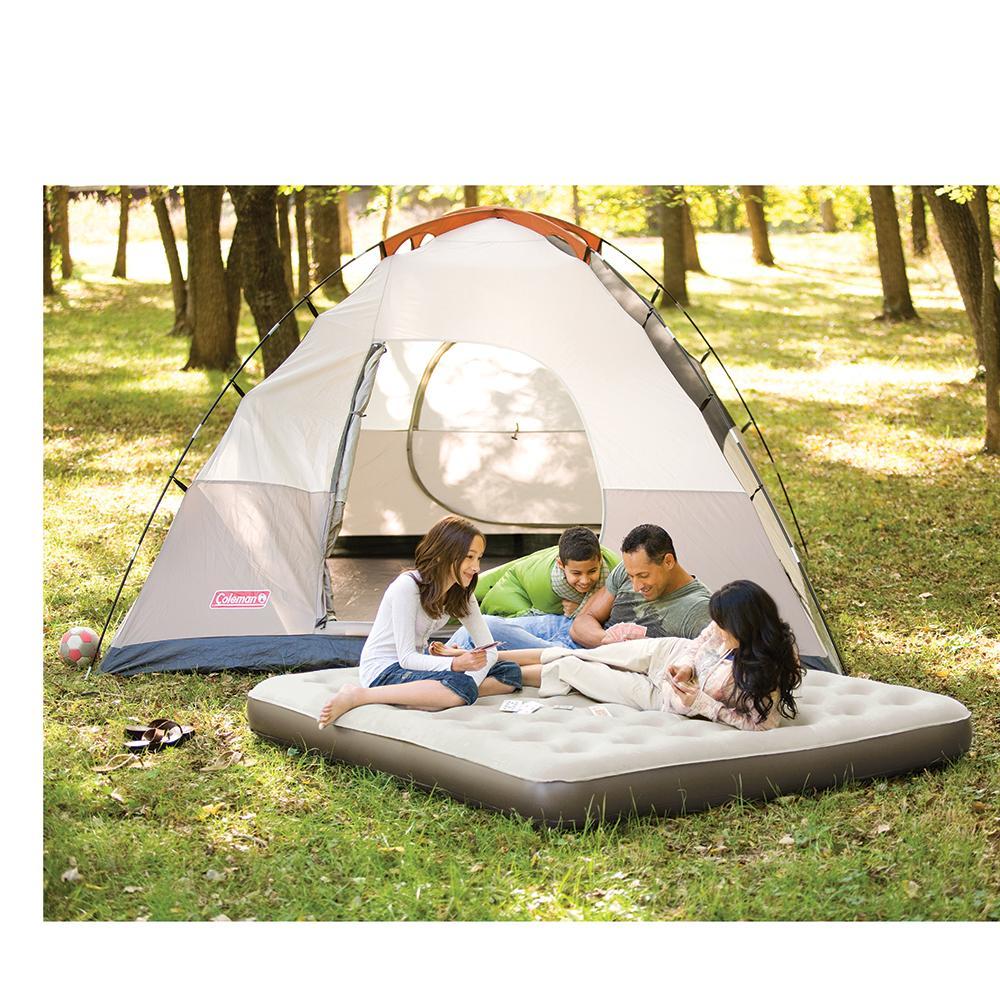 Camping Single High Quickbed Air Bed Queen Mattress W 4d