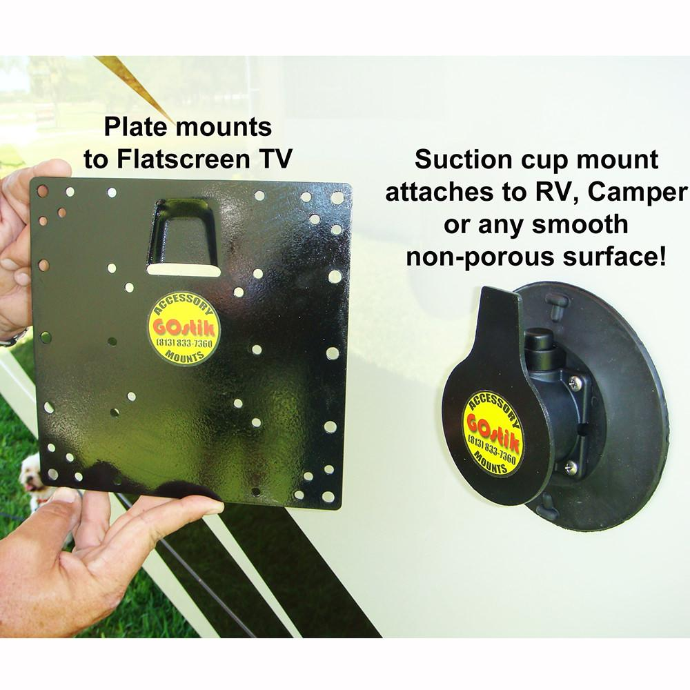 ... Flat Screen TV Suction Cup Mount