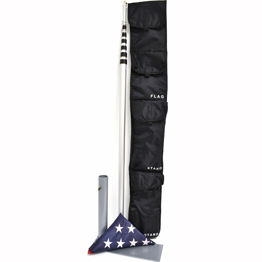 10 Foot Aluminum Flag Pole