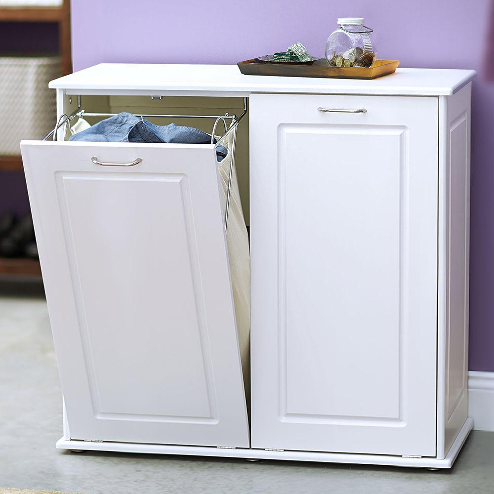 Tilt out laundry cabinet sorter household 18400 1 laundry aids camping world - Tilt laundry hamper ...