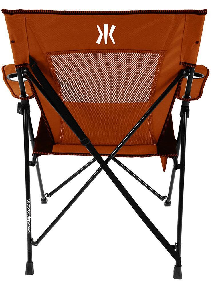 Dual Lock Chair Orange Kijaro 80071 Folding Chairs