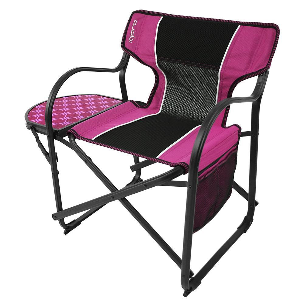 Pink Mini Deck Chair Kijaro Folding Chairs Camping World
