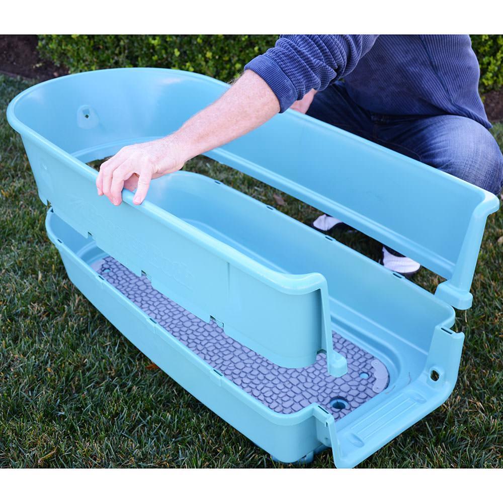 Dog Washing Tub Booster Bath Large Heininger 3040 Pet Grooming Campi