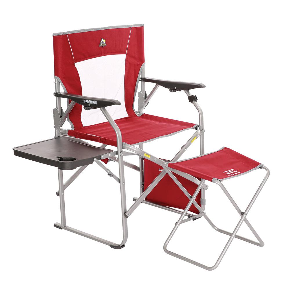 Folding Director S Chair With Ottoman GCI Outdoor 46472 Folding Chairs