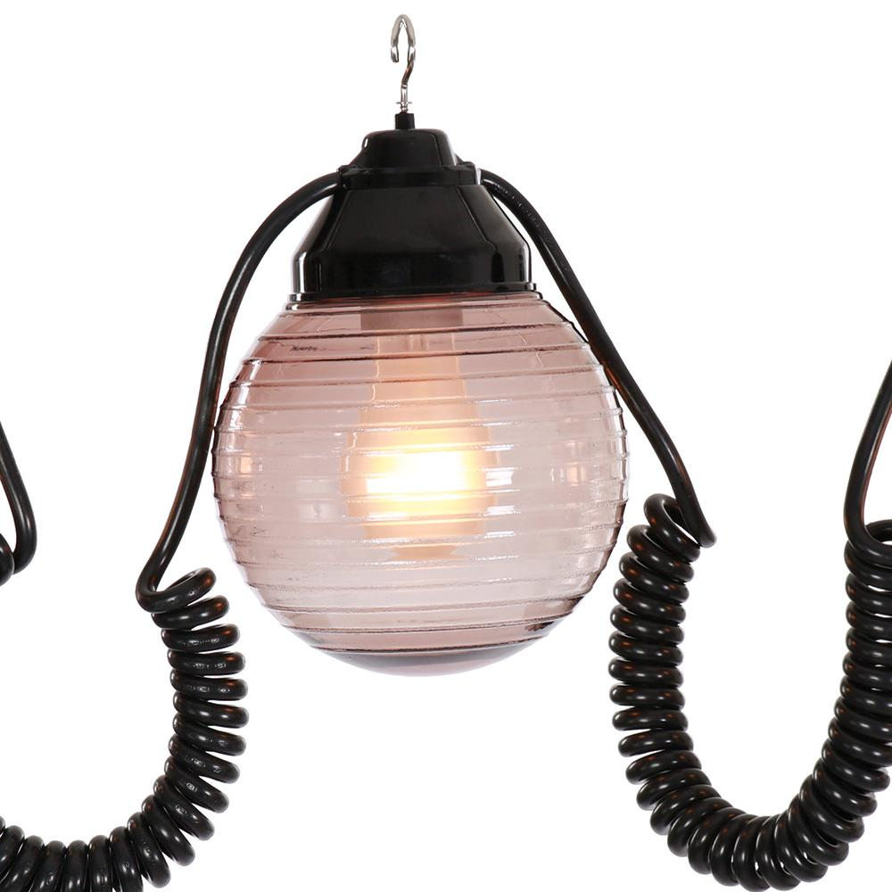 ... 6 Bronze Globe Lights with 30 Cord ...