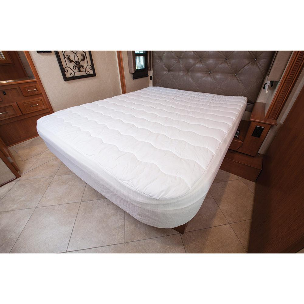 Short Queen Home Comfort Mattress Pad Carpenter 31374554233 Mattress Pads Toppers
