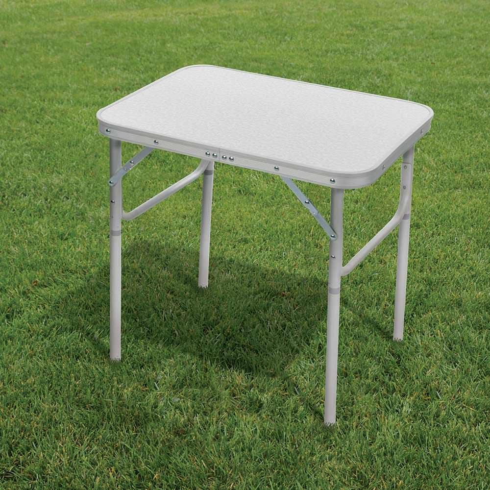 ... Lightweight Aluminum Folding Table ...