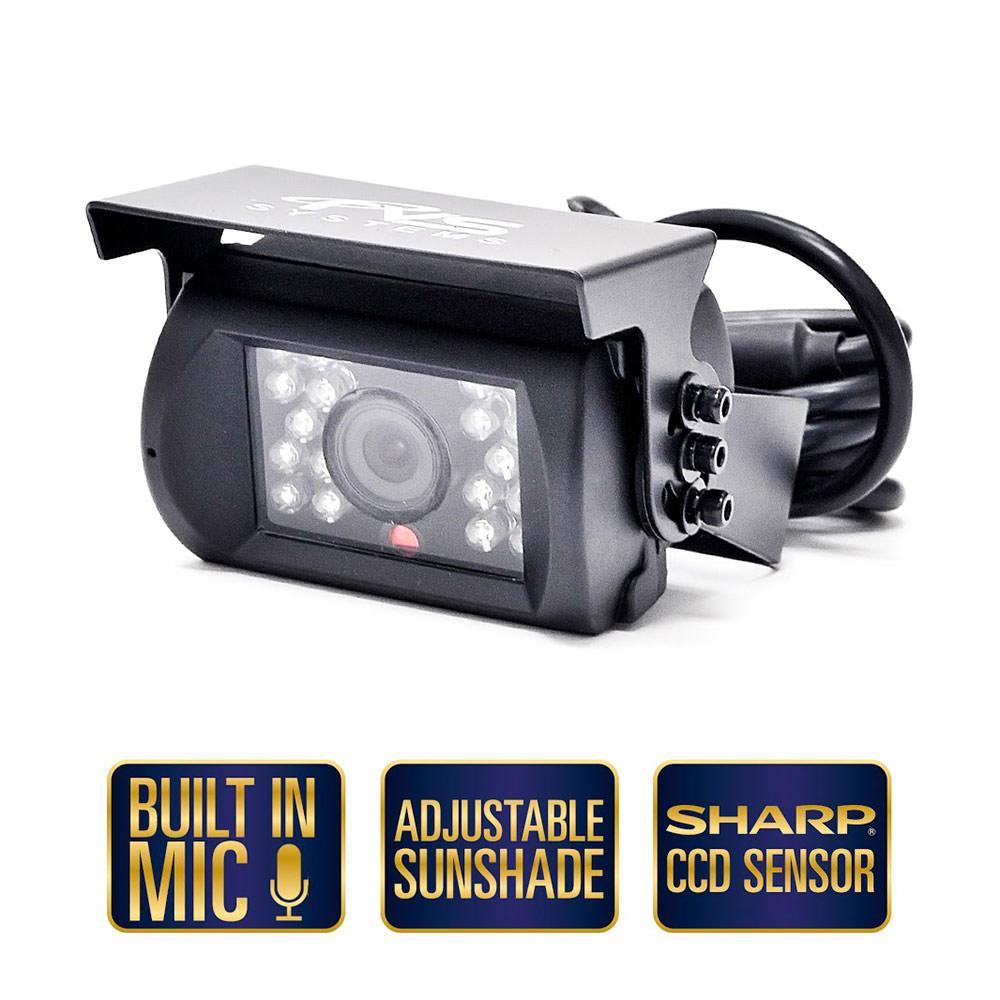 Rear View Camera System - Three Camera Setup with Side Cameras ...