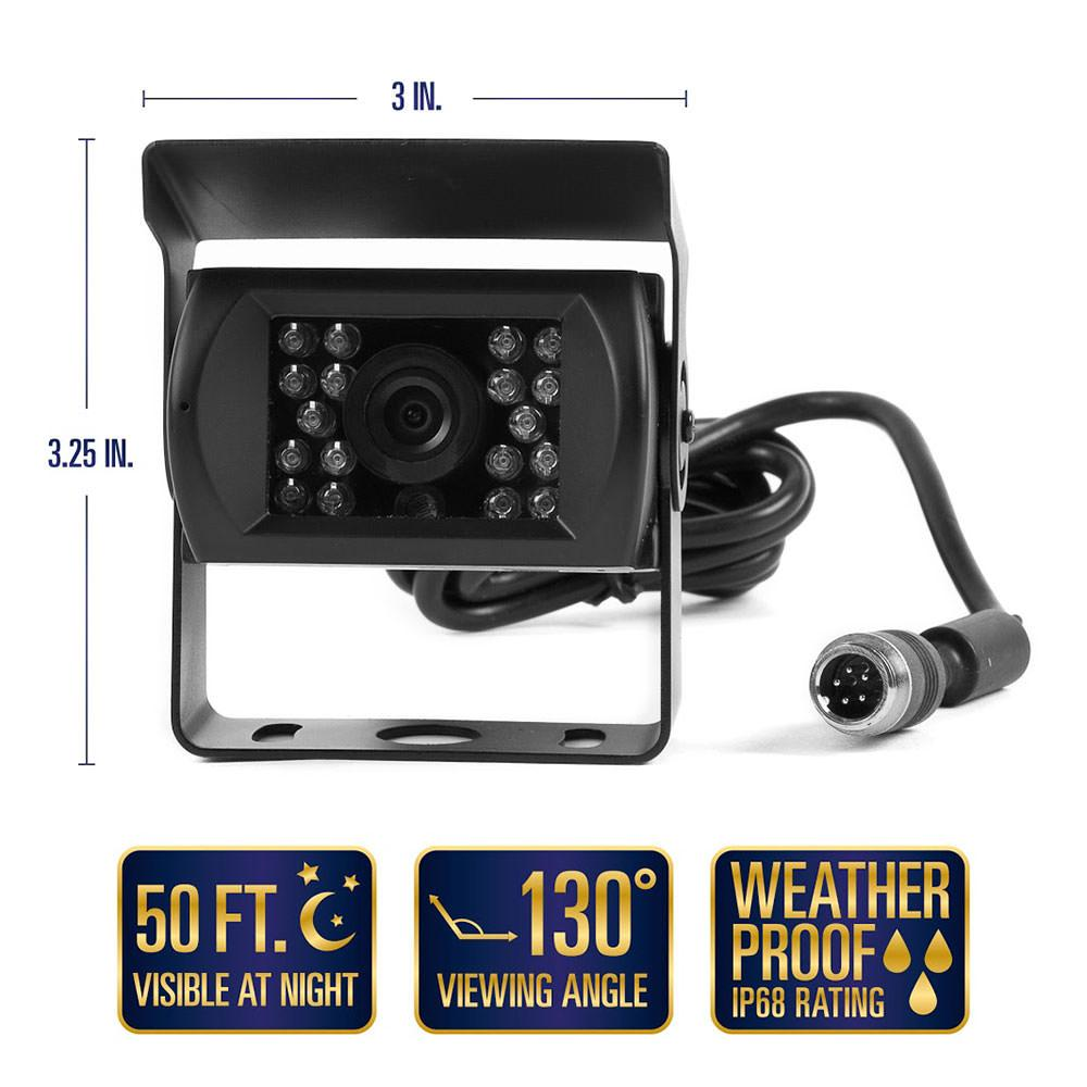 Rear View Camera System - One Camera Setup with 7