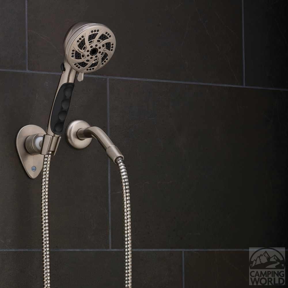 fury handheld shower nickel