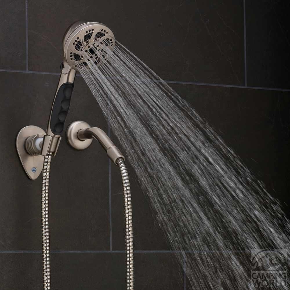 fury handheld shower nickel - Hand Held Shower Head
