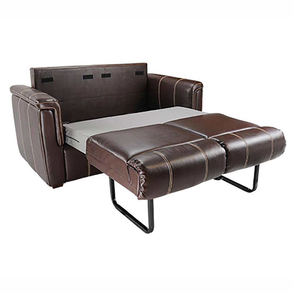 Crestwood Tri Fold Sofa 68 Mahogany Lippert Components Inc 337413 Furniture Camping World
