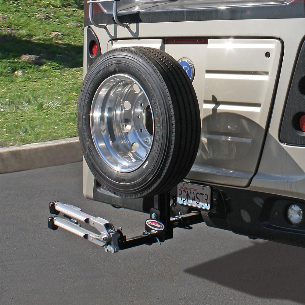 Spare tire carrier roadmaster 195225 tire accessories roadmaster spare tire carrier sciox Choice Image