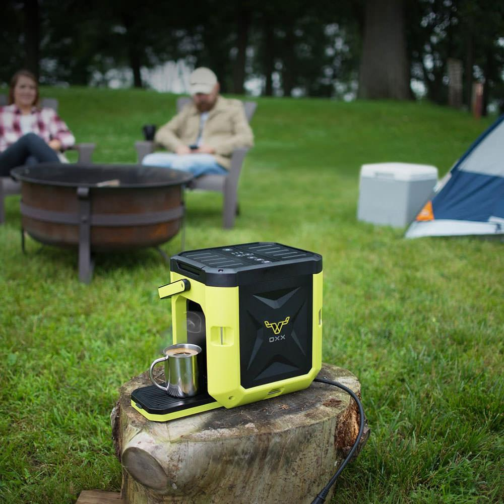 K Cup Coffee Maker For Rv : Coffeeboxx Single Serve Camping Coffee Maker in Green - Oxx Llc CB250 - Coffee Makers - Camping ...