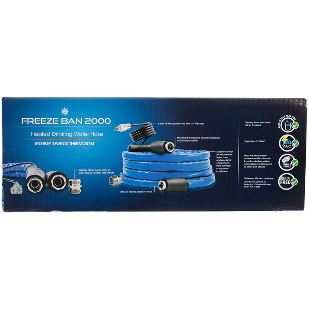 Freeze Ban Heated Drinking Water Hose, 50\' - Camco 22932 - Fresh ...