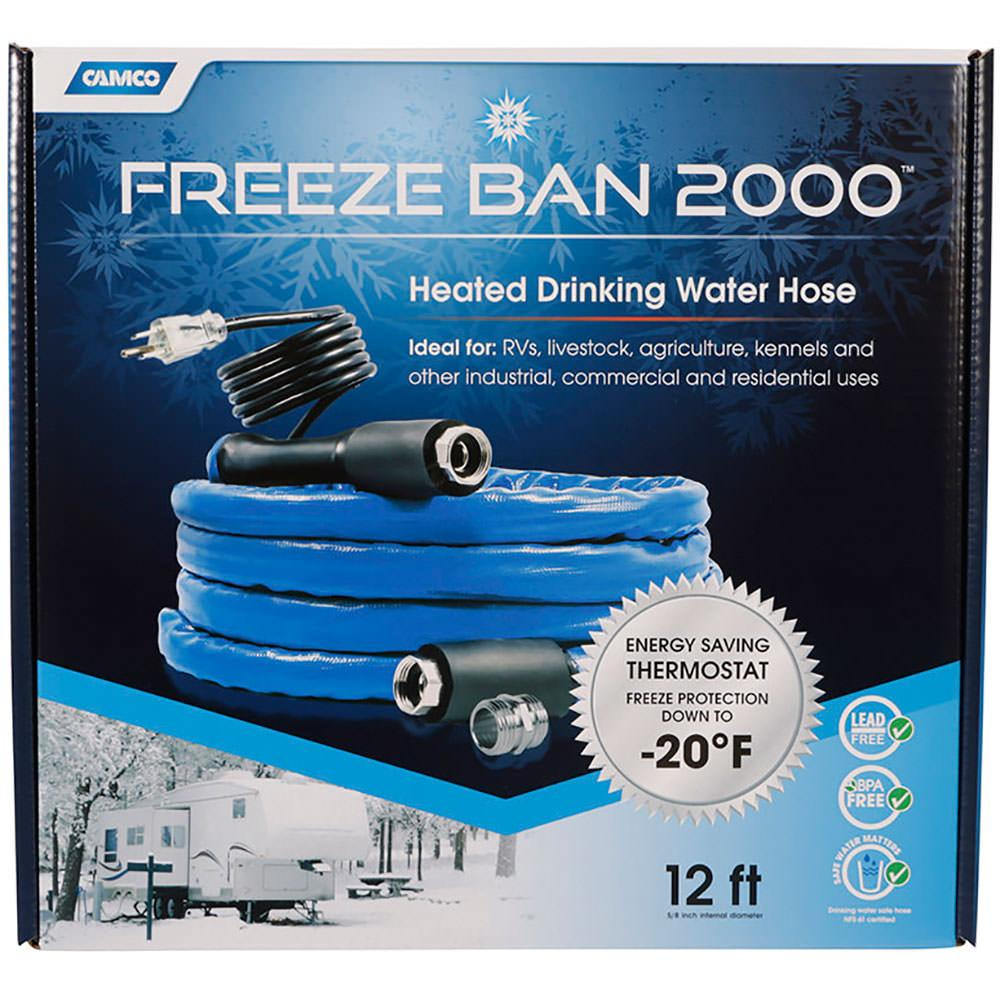 Freeze Ban Heated Drinking Water Hose 12 Camco 22930