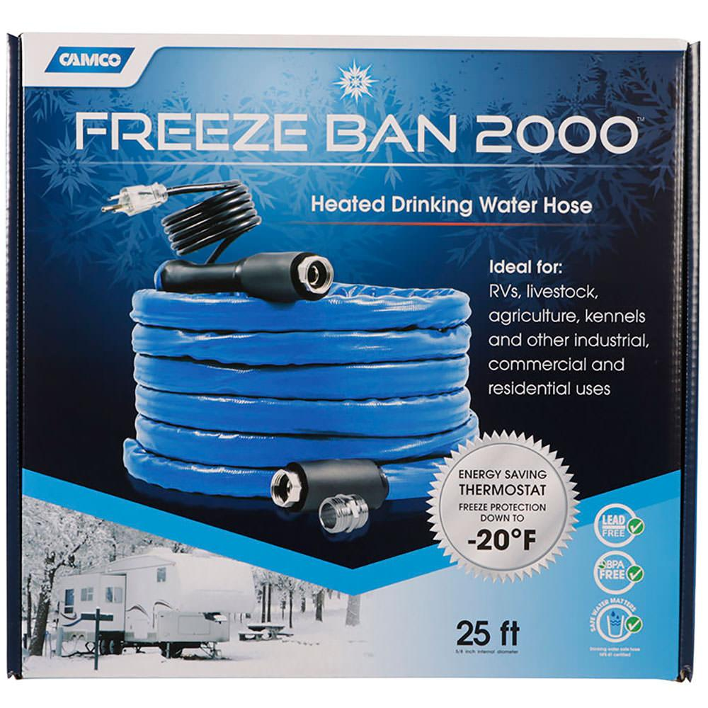 Freeze Ban Heated Drinking Water Hose 25 Camco 22931