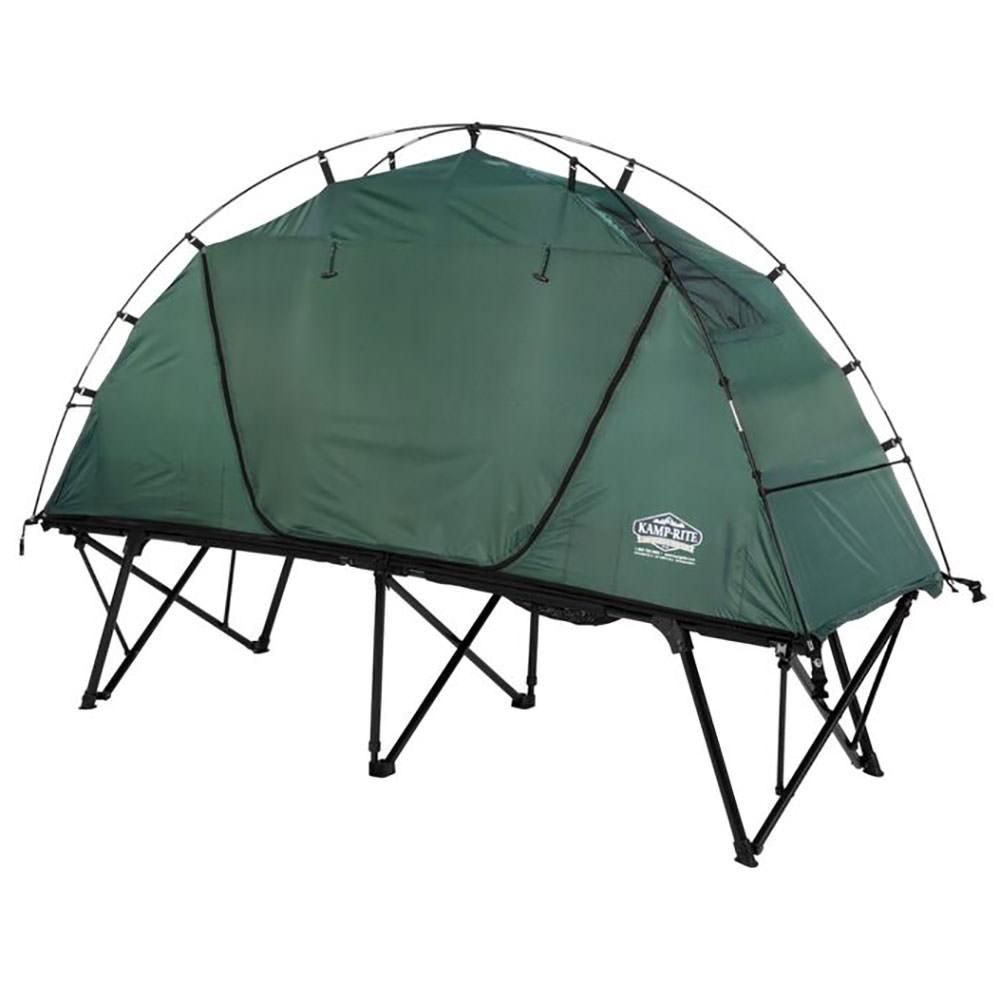Compact tent cot kamp rite tent cot inc tc701 pads cots air beds camping world - Cots for small spaces plan ...