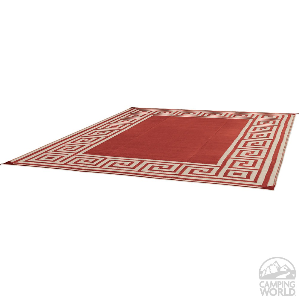 Patio Mat Polypropylene Greek Motif Design 6 X9
