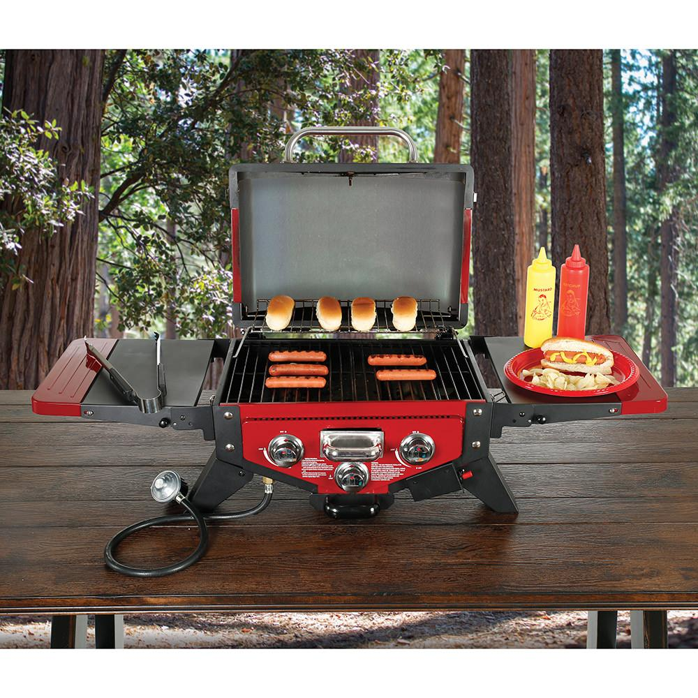 Vector Gas Tabletop Grill With Smoke Tray Outdoor