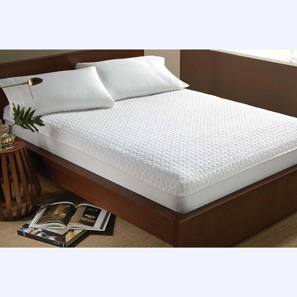 anti allergy mattress encasement short queen perfect fit 846987