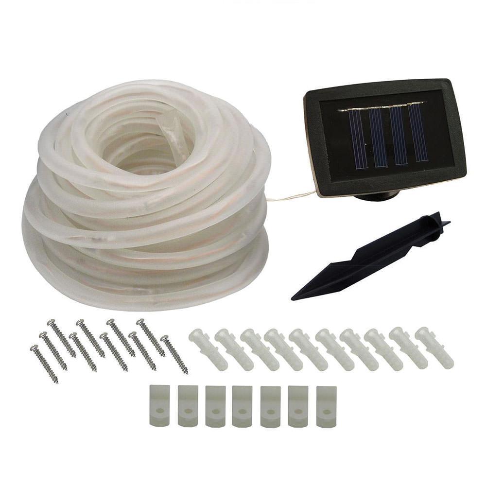 Solar Rope Lights Ebay: 50 LED Red, White Blue Solar Rope Light, 23'