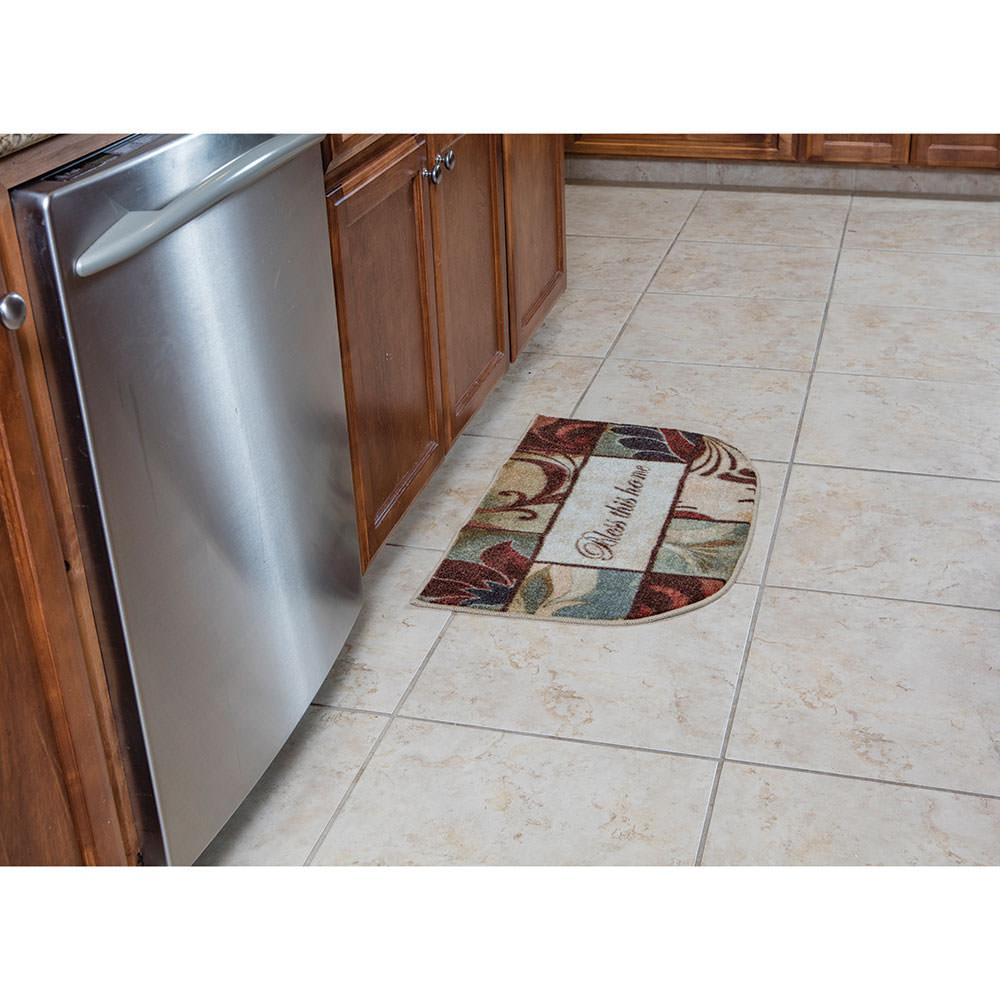 "kitchen slice rugs, 18"" x 30"", bless this home - mohawk factoring"