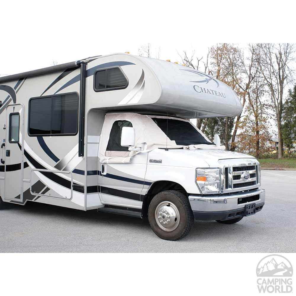 Motorhome Covers Product : Deluxe windshield cover sprinter and up