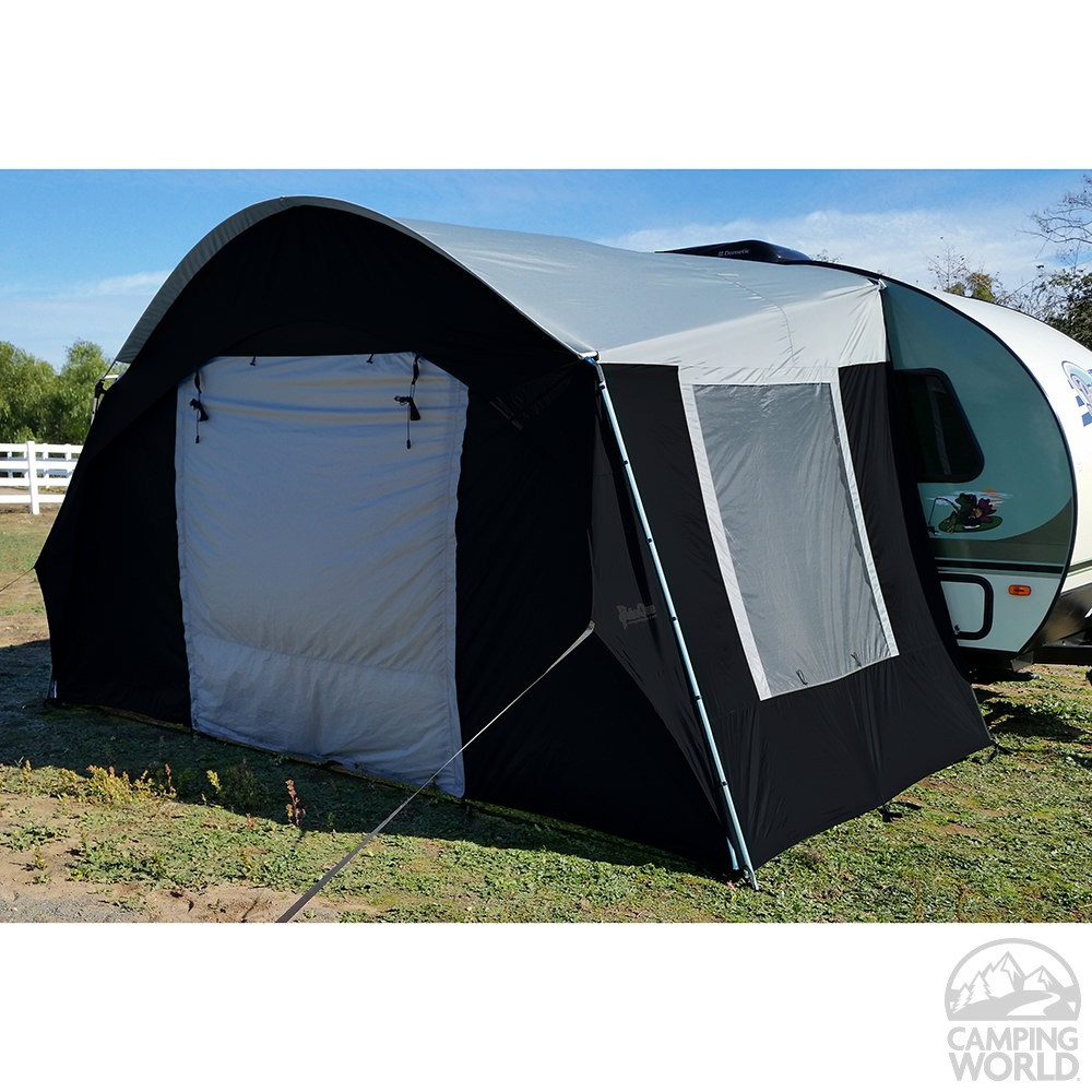 Rpod For Sale >> R-Pod Trailer Side Tent, Black/Silver - PahaQue Wilderness STPOD-B - Sunblockers - Camping World