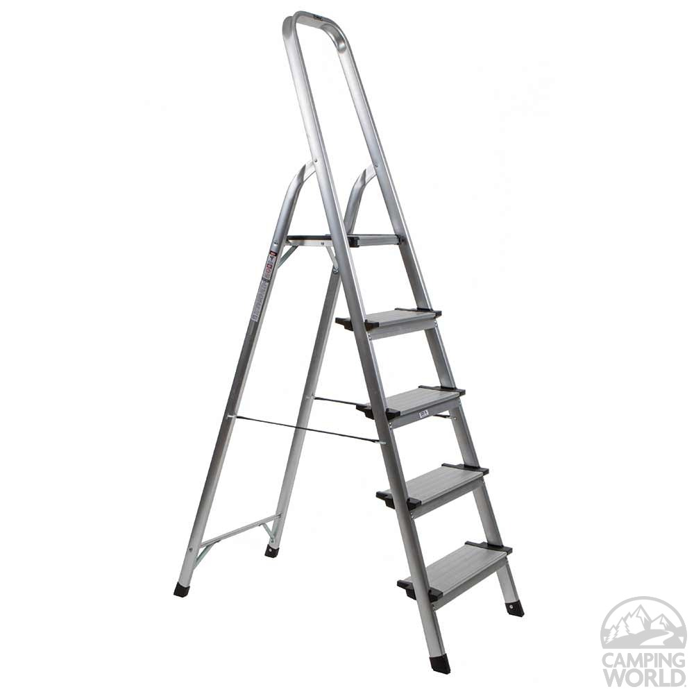 5 Step Ultralight Step Ladder Polder Products Llc Ldr