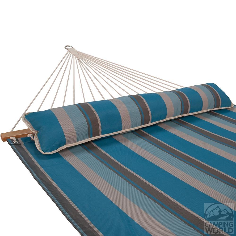 Quick Dry Hammock With Pillow Ocean Stripe 13 Algoma