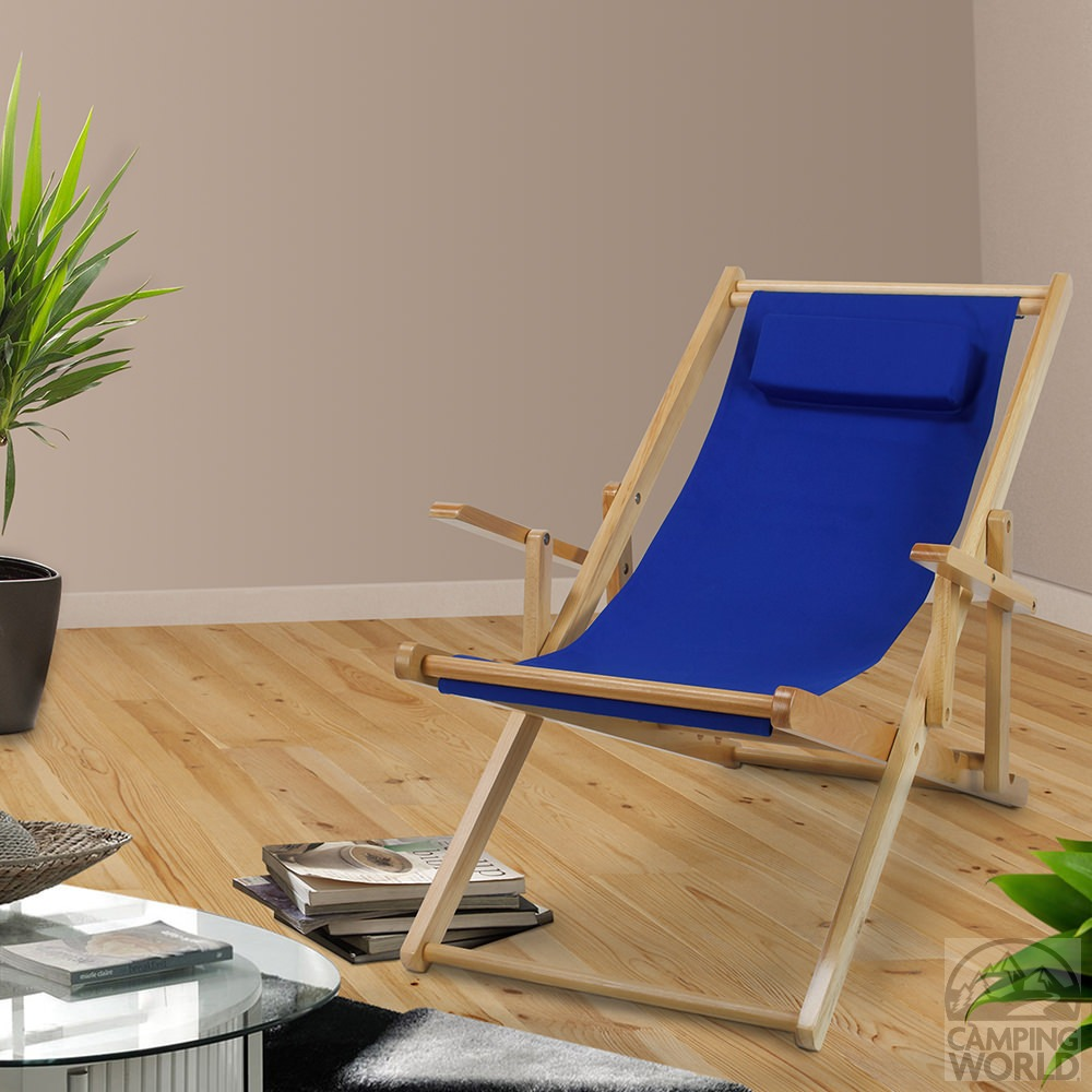 Canvas Patio Sling Chair Blue Yu Shan Co Usa Ltd 114 00