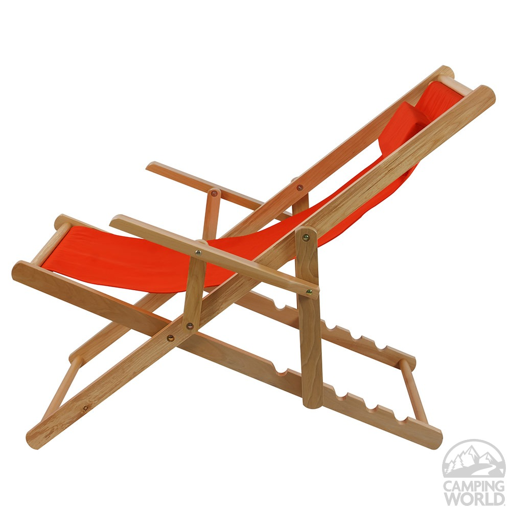 ... Canvas Patio Sling Chair, Orange ...