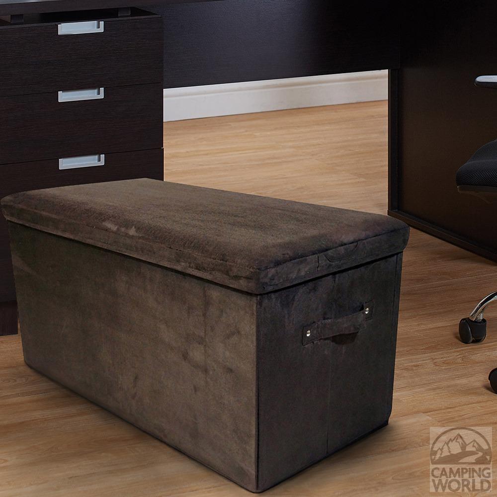 ... Folding Storage Bench - Microsuede Brown ... & Folding Storage Bench - Microsuede Brown - Yu Shan Co Usa Ltd 112 ...