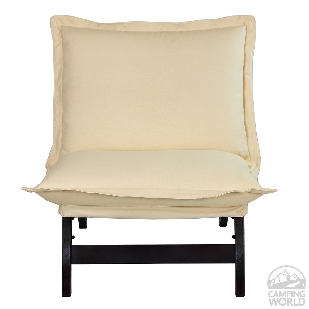 Exceptional Casual Folding Lounger Chair ...