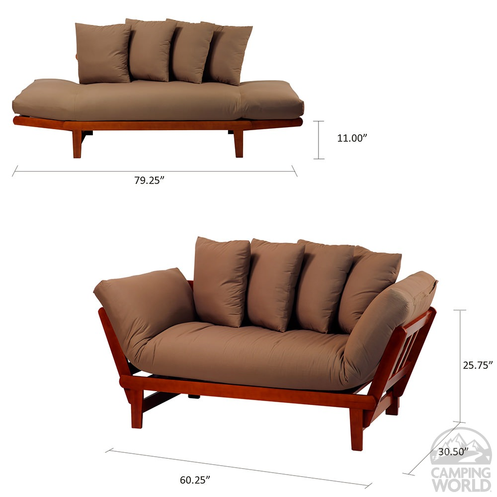 Lounger Sofa Bed With Frame