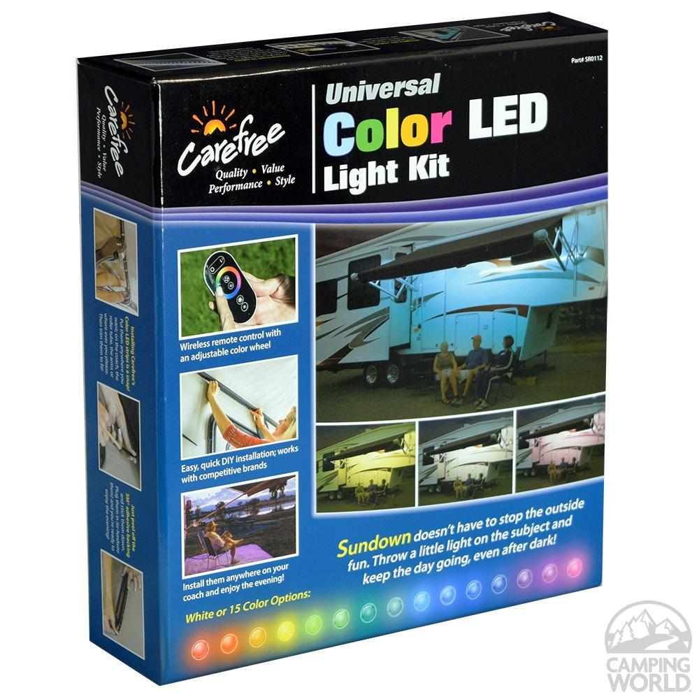 universal color led light kit carefree of colorado sr0112 patio lights camping world. Black Bedroom Furniture Sets. Home Design Ideas