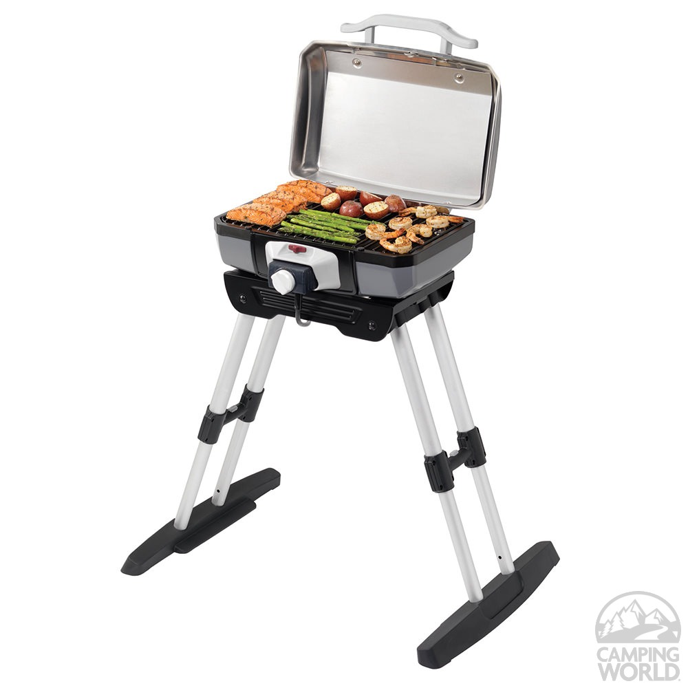 ... Cuisinart Electric Portable Grill With Stand