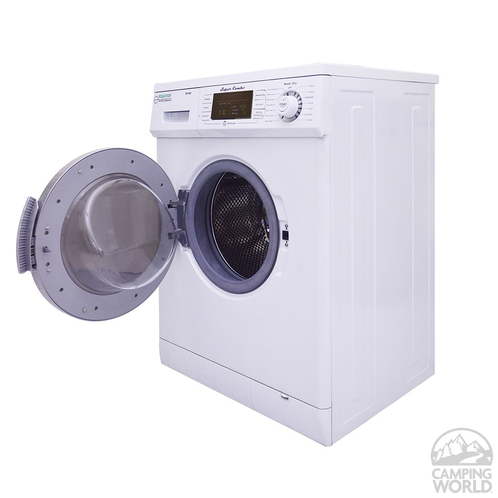 compact convertible super combo washer with drying